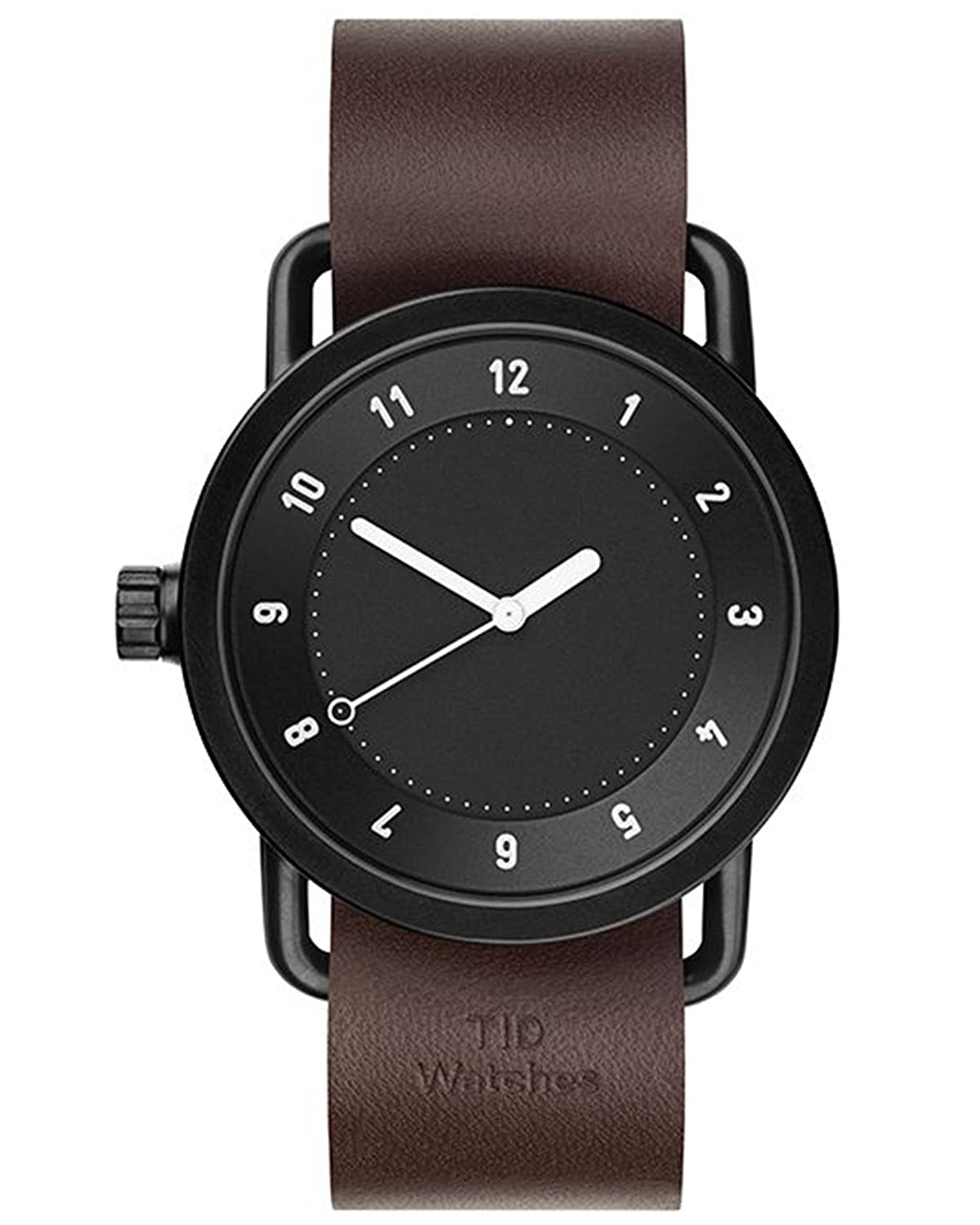 TID No.1 Black-Walnut Leather horloge 10010103