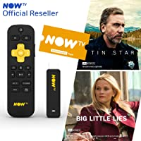 NOW TV Smart Stick with HD & Voice Search with 2 Month Entertainment Pass