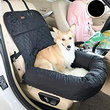 Amazon.com: Myyxt Dog Car Seat Cover Bed Waterproof Durable Nonslip ...