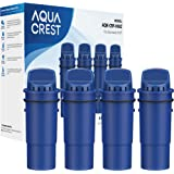 AQUA CREST CRF-950Z NSF Certified Pitcher Water Filter, Replacement for Pur CRF950Z, DS-1800Z, PPT700W, PPF951K, CR-1100C, CR