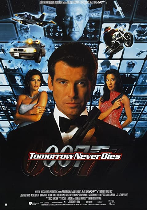 Amazon.com: Kirbis Tomorrow Never Dies Movie Poster 18 x 28 Inches ...