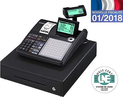 CASIO SE-C450MB-FR - Caja registradora: Amazon.es: Oficina y papelería