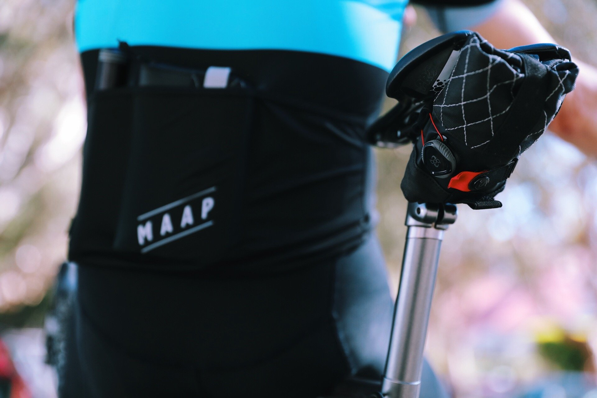 SILCA Bundled Seat Roll Premio, Regulator and Multi-tool included w/ Saddle Bag by SILCA (Image #1)