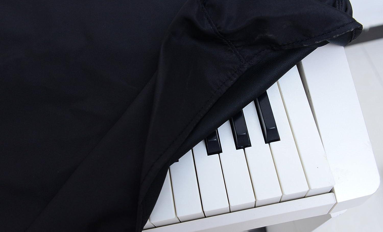 Richele Housse de protection antipoussi/ère pour clavier eacute ectronique piano num/é rique nbsp touches 61 Keys