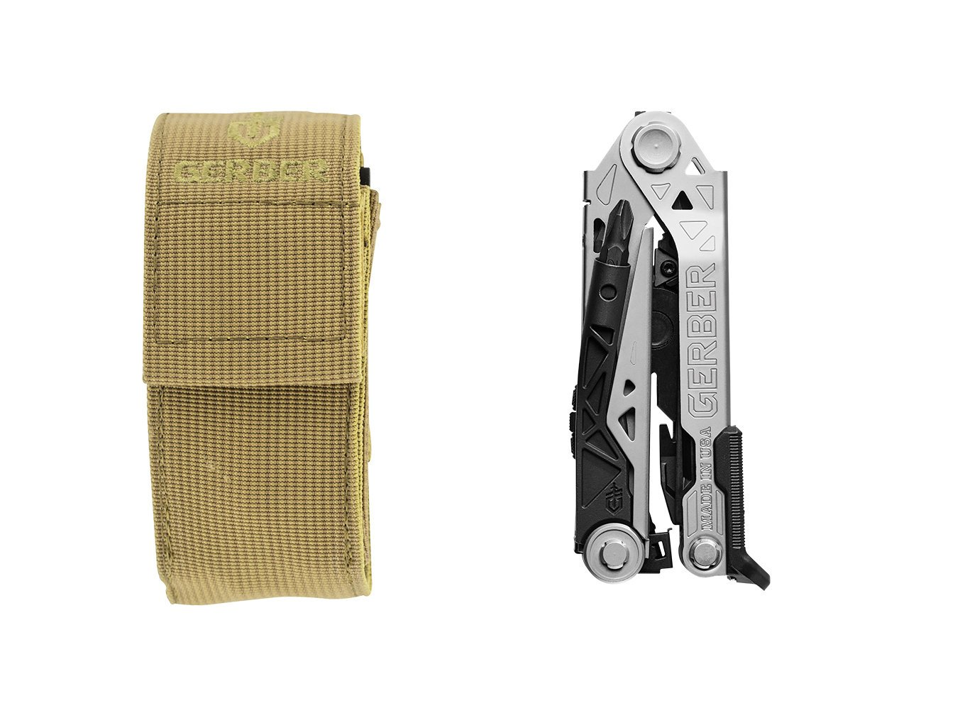 Gerber Center-Drive Multi-Tool | Coyote Brown Molle Sheath [30-001195]