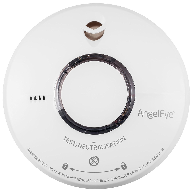 Rauchmelder Angeleye ELEGANCE EXPERT ST 620 Akkulaufzeit 10 Jahre - 10 Jahre Garantie No Name