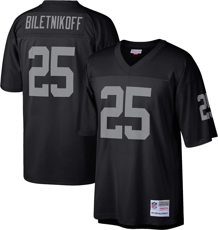 Amazon.com : Mitchell & Ness Fred Biletnikoff Oakland Raiders ...
