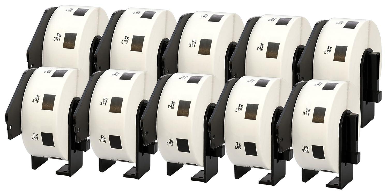 10x DK-11201 29 x 90 mm Adressetiketten (400 Stück Rolle) kompatibel für Brother P-Touch QL-1050 QL-1060N QL-1110NWB QL-1100 QL-500 QL-500BW QL-570 QL-580 QL-700 QL-710W QL-800 QL-810W QL-820NWB B074RQ5C32 | Einfach zu spielen, freies Leben