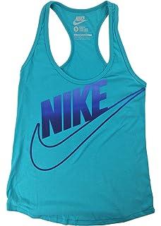 21f4bbf03b9aca Nike Racerback Dri-FIT Tank Top Purple Slate L  Amazon.co.uk  Clothing