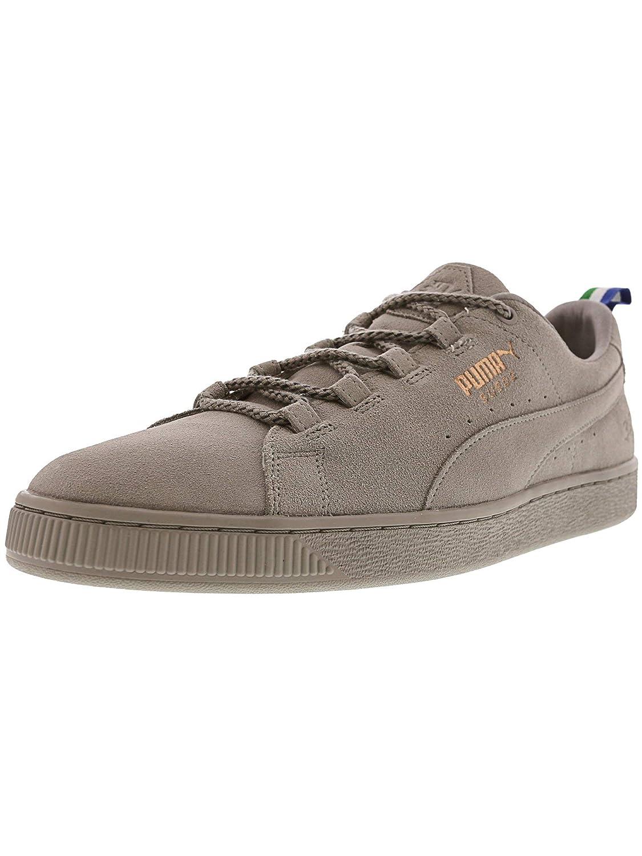 damen Puma CLYDE FSHN GLOW NATUREL Sneaker low blacknatural
