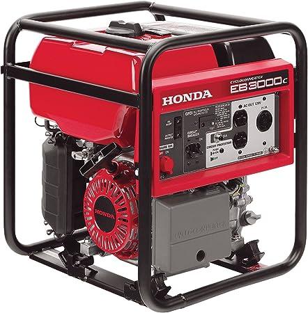 Amazon.com: Honda EB3000 generador industrial de 2600 vatios ...