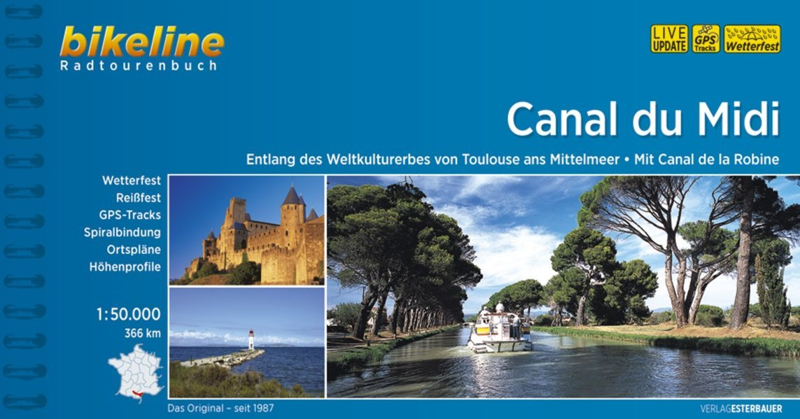 Download Canal du Midi Radtourenbuch Toulouse Ans Mittlemeer 2014: BIKE.FR.05 (German Edition) ebook