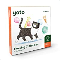 Yoto 'The Mog Collection' by Judith Kerr Card Pack for Yoto Player and Yoto App – 6 Cards Including Mog The Forgetful…