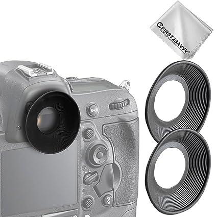 2 X Premium Quality DLSR Cameras Rubber Eyepiece Eyecup Magnifying Eyepiece  for Nikon D750 D610 D600 D300S D7200 D7100 D7000 D90 D300 D200 D80 D70
