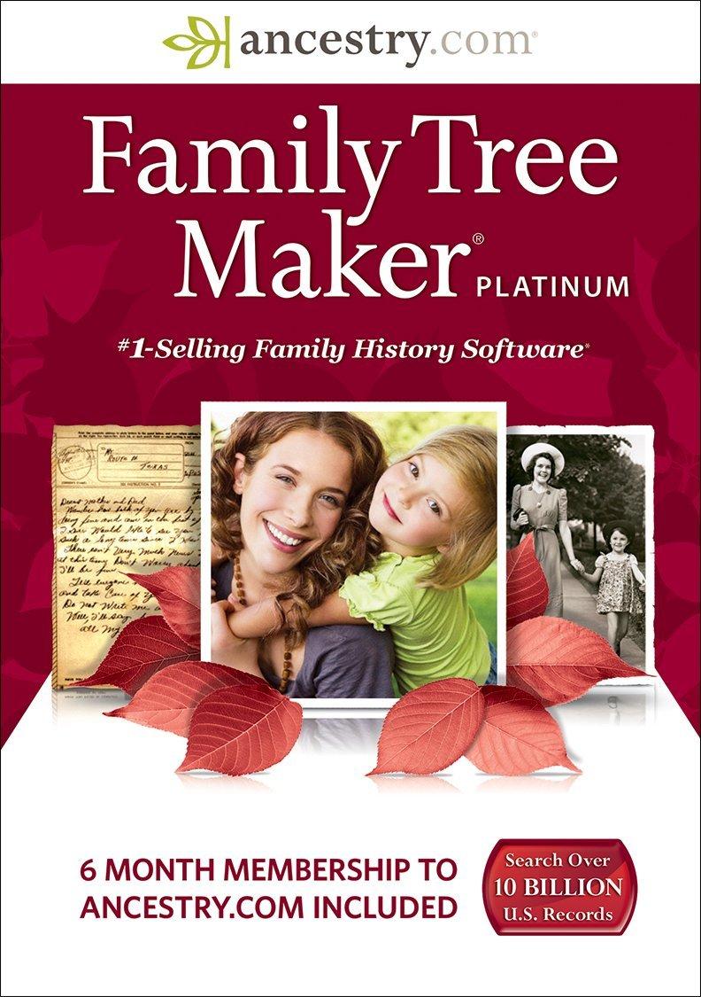 Amazon.com: Family Tree Maker Platinum [Download]: Software