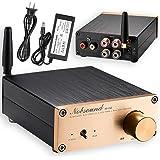 Nobsound NS-05G Mini 100W Bluetooth 4.0 デジタル ステレオ アンプ HiFi パワーアンプ 電源アダプター付き