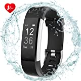 DIGI-YOUNG Fitness Tracker HR, Activity Tracker Watch with Heart Rate Monitor GPS Tracker,Step Counter,Touch Screen WearaSble Smart Band,IP67 Waterproof Smart Wristband for Android and IOS