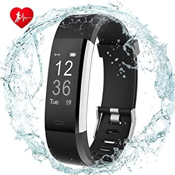 Fitness Tracker, digi-young Heart Rate Monitor actividad Tracker reloj inteligente, pantalla táctil