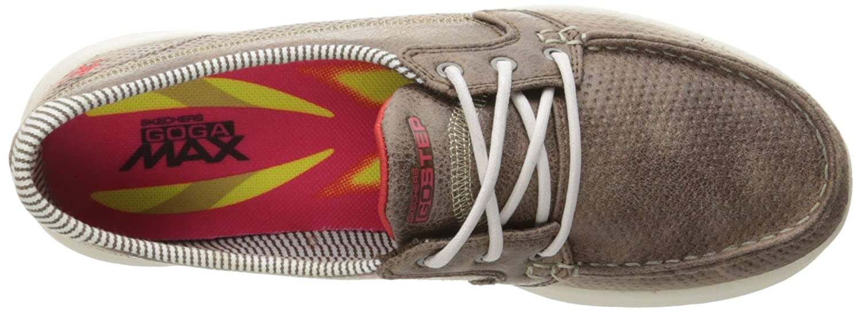 Skechers Walking Women's GO Step - Marina-BKW Boat Shoes B01IIBKKM0 Walking Skechers 1a2f6f