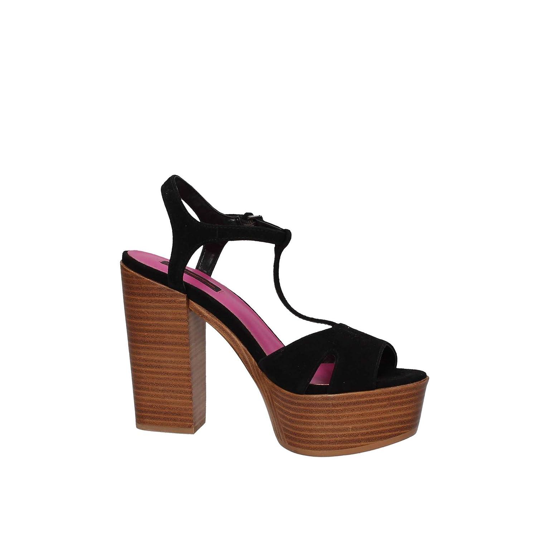 Fornarina KY1012 Schwarz Sandale Damen Schwarz KY1012 710f50