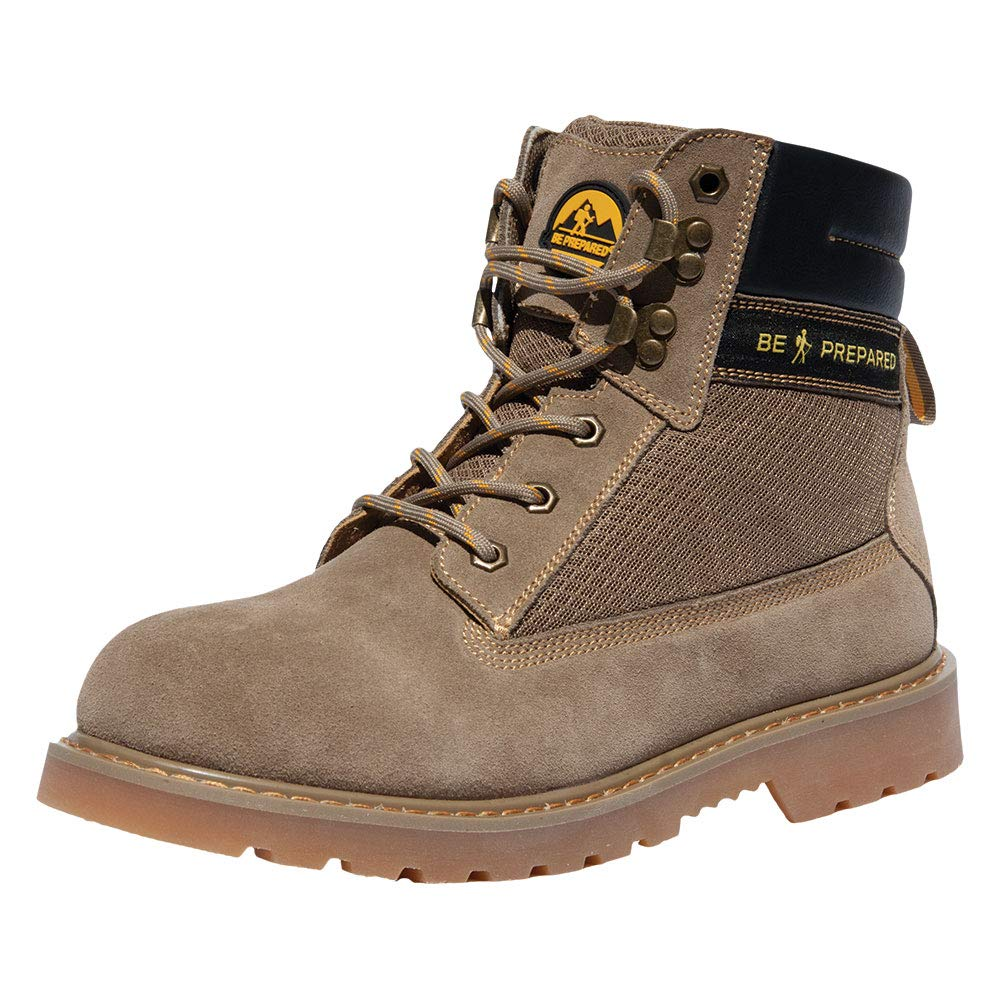 Boy Scouts of America Men's Tan Hiking Boots - Size 7 by Boy Scouts of America