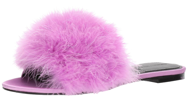 KENDALL + KYLIE Women's Chloe Slide Sandal B0752G7SD8 6.5 B(M) US|Violet