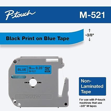 Brother M521 etiqueta de impresora - Etiquetas de impresora (Azul ...