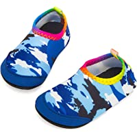 Yorgou Baby Boys Girls Water Shoes Toddler Beach Shoes Barefoot Aqua Socks Non-Slip for Pool Beach