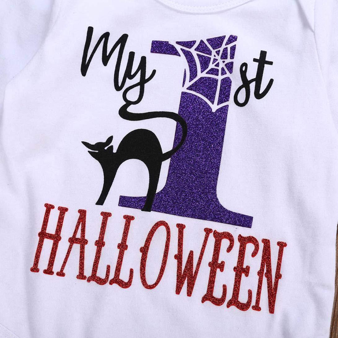 Diadema Traje De Falda Tutu Ropa Conjunto Reci/én Nacido Beb/é Ni/ña Halloween Calentadores De Piernas K-youth Vestido Bebe Ni/ña 4pcs Beb/é Ni/ña Mameluco Beb/é Mono