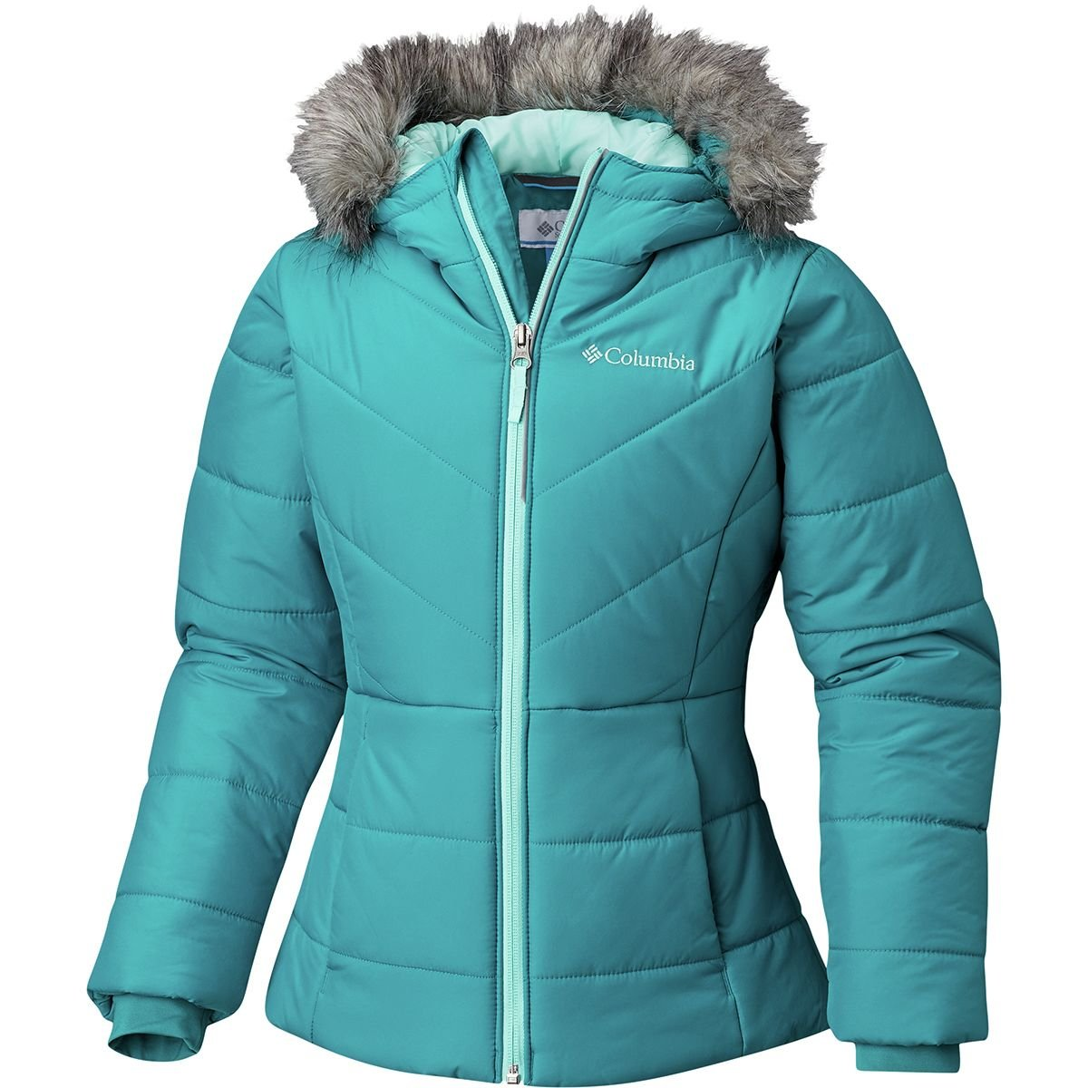 Columbia Katelyn Crest Insulated Jacket - Girls' Emerald, XL by Columbia