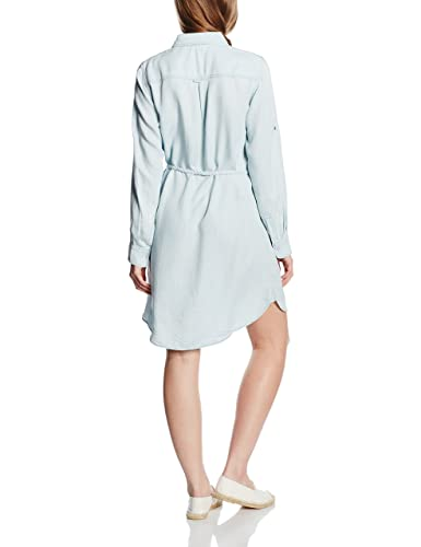 ESPRIT Damen Kleid im Denim - Look, Knielang, Gr. 40, Blau (BLUE 430):  Amazon.de: Bekleidung