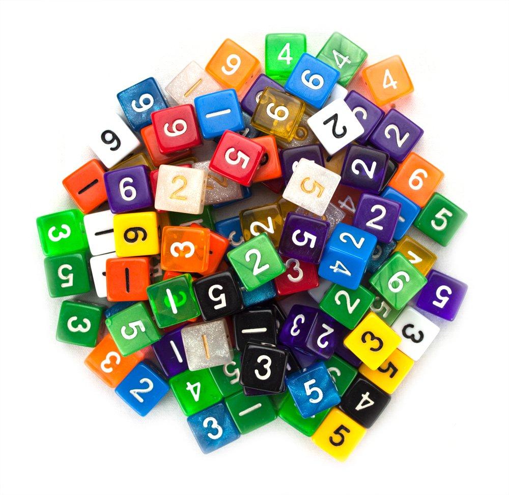 大人気新作 100+ Pack of Random D6 Polyhedral of Dice in By Multiple in Colors By Wiz Dice B00C0X5IN4, Vitamin Sea:8907a253 --- hohpartnership-com.access.secure-ssl-servers.biz