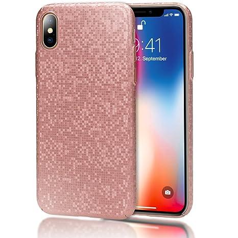 custodia iphone x ultra slim metallo