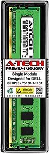 A-Tech 2GB RAM for DELL OPTIPLEX 780 DT/MT/SFF | DDR3 1333MHz DIMM PC3-10600 240-Pin Non-ECC UDIMM Memory Upgrade Module
