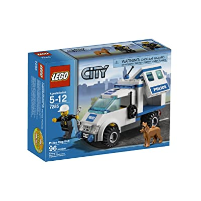 LEGO Police Dog Unit 7285: Toys & Games