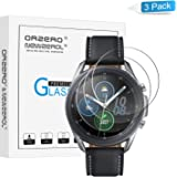 (3 Pack) Orzero Tempered Glass Screen Protector Compatible for Samsung Galaxy Watch 3 (45mm), Garmin Forerunner 45…