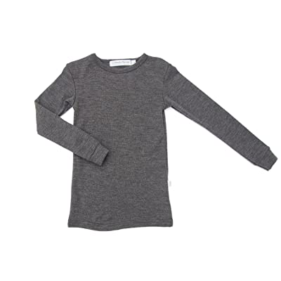 100% Pure Merino Wool Thermal Top. The best active or sleep underlayer for kids!