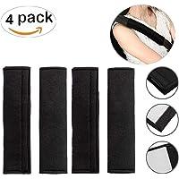4 pcs almohadillas para cinturón de Seguridad de Coche protección de cinturón para niños y Adultos