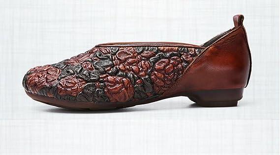 Xing Mujer De Populares Con Casuales Guang Zapatos Cuero OrwFqCOv