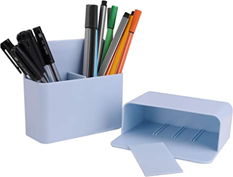 MAGNET PEN Magnet Bleistifthalter inkl Bleistift Magnetpen in 7 Farben