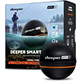 Deeper Pro Plus 2 Castable and Portable GPS Enabled Fish Finder for Kayaks Boats on Shore Ice Fishing Wireless Fishfinder Sma