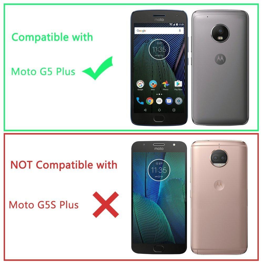 Amazon.com: NageBee G5 Plus - Carcasa para Motorola Moto G ...