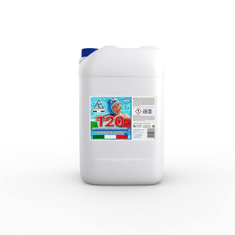 c.a.g Chemical 20t0100 Antialgas T20 líquido, concentrado a ...