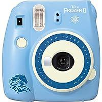 Fujifilm Instax Mini 9 Frozen 2 Instant Print Camera, Blue,Instax Mini 9 Disney Frozen 2 Camera
