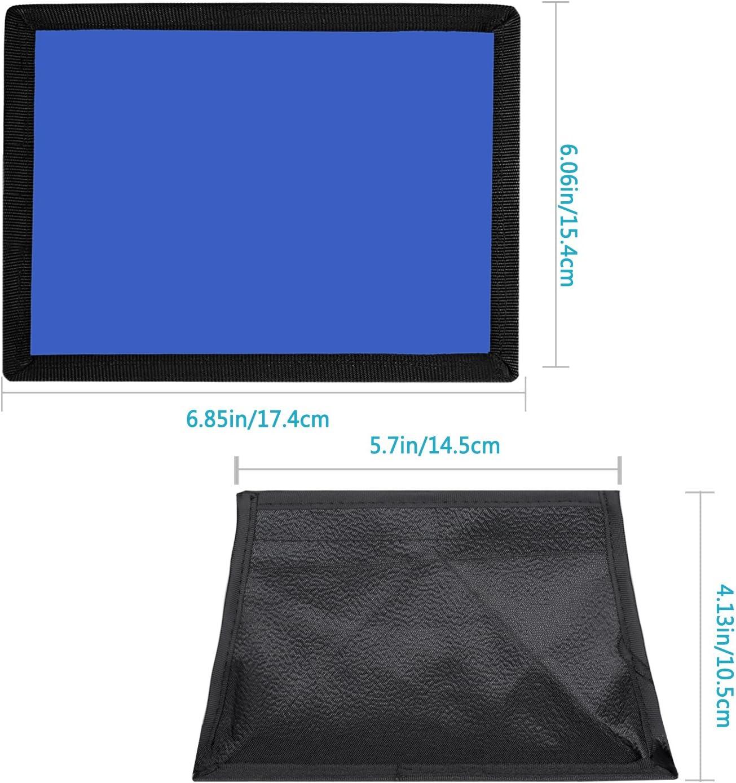 Azul CN-126 y CN-216 LED Luz Neewer 15x17 Cent/ímetros C/ámara Plegable Difusor Mini Softbox para CN-160