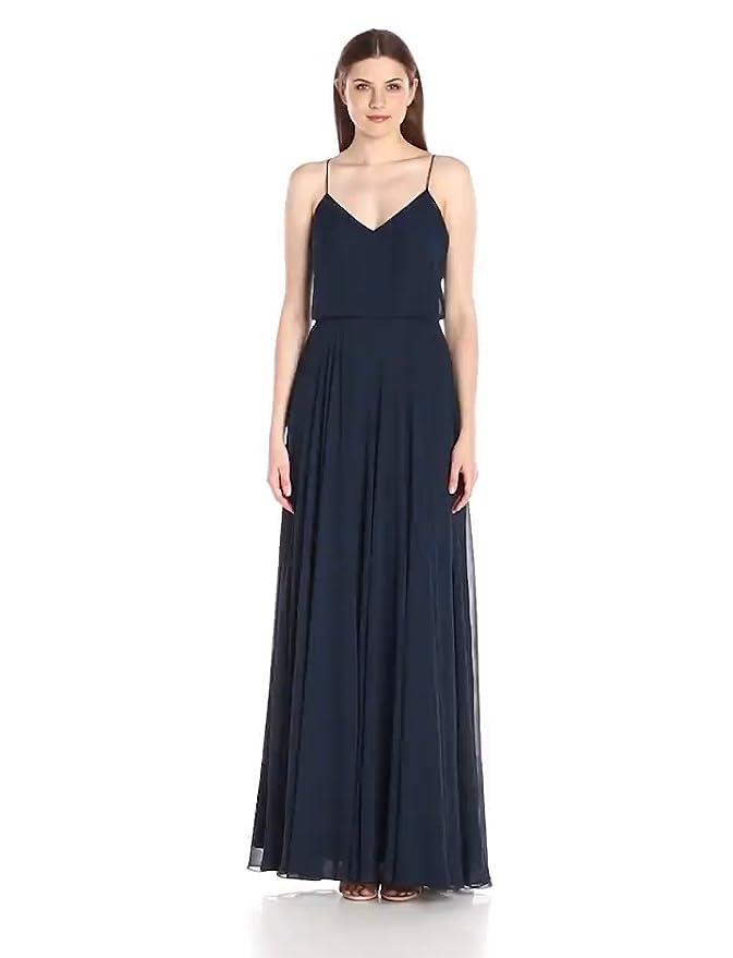 946b76c49f78 Amazon.com: Jenny Yoo Women's Inesse V Neck Gown: Clothing