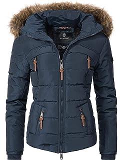 834c728a1825 Navahoo Damen Jacke Steppjacke Honigblume 7 Farben XS-XXL: Amazon.de ...