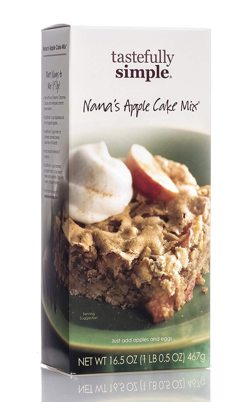 Tastefully Simple Nana's Apple Cake Mix