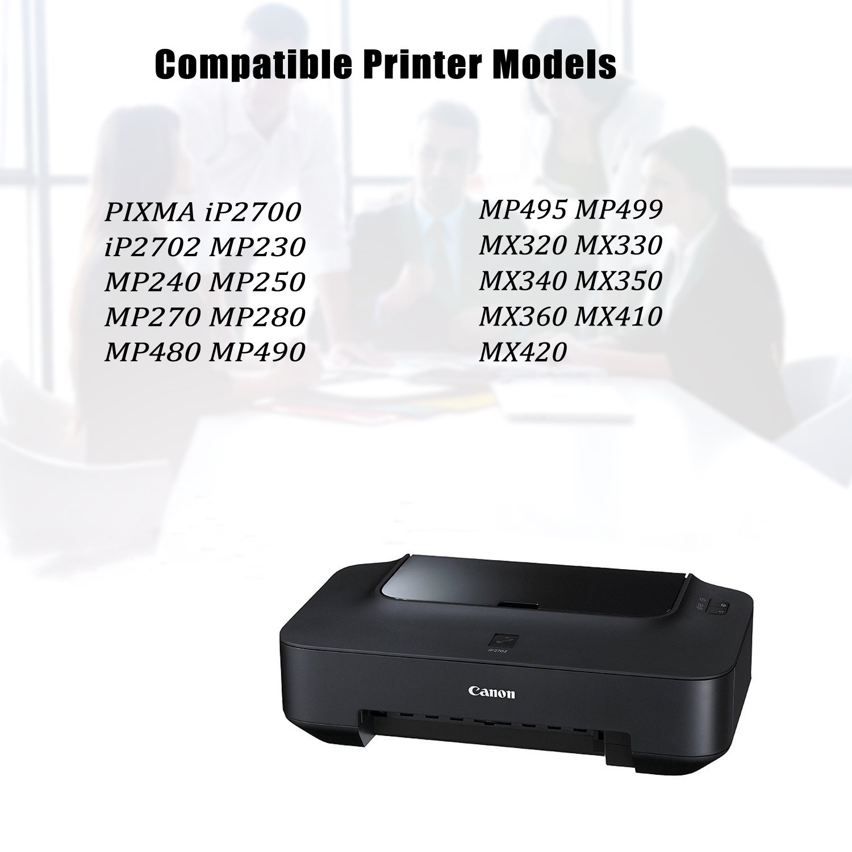 2 PK PG210XL Black Ink Cartridge for Canon PIXMA iP2702 MX340 MX410 MP490 MP499