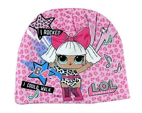 Cappello Invernale Bambina LOL Surprise in Pile Cuffia Inverno in Pail  Berretto Bimba 589d8512661